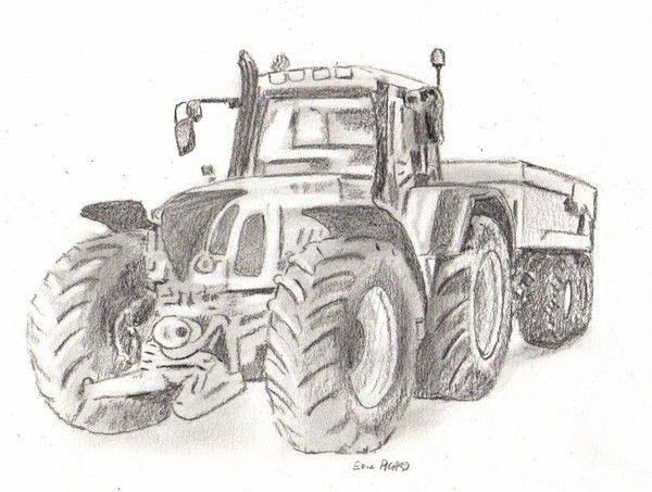 Tracteur - Dessin de tracteur massey ferguson ...
